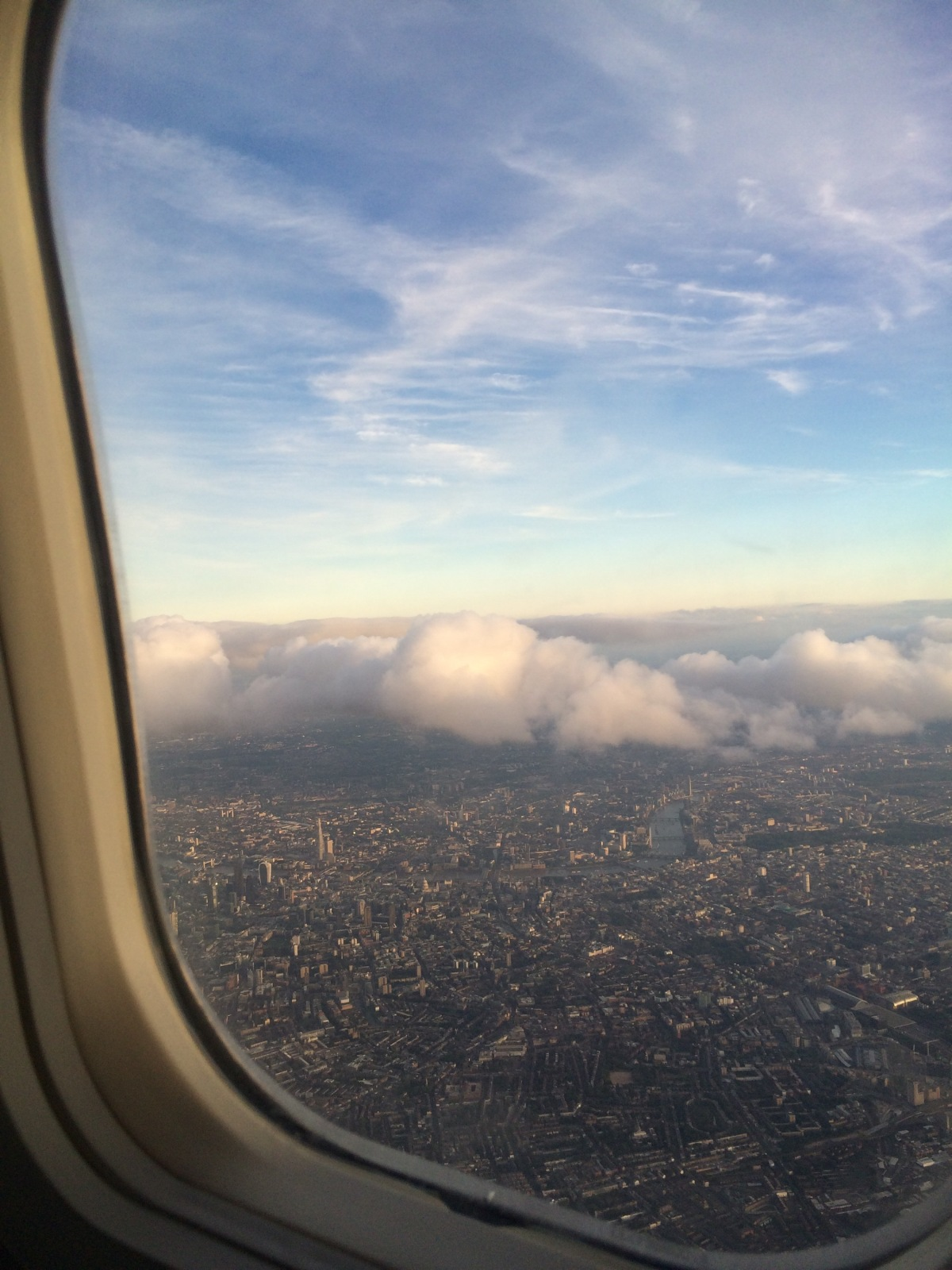Arrival hiccups in London